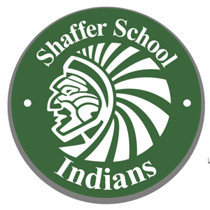 Shaffer School Indians logo