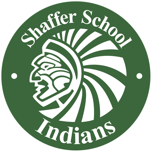 Shaffer School Mascot - Green